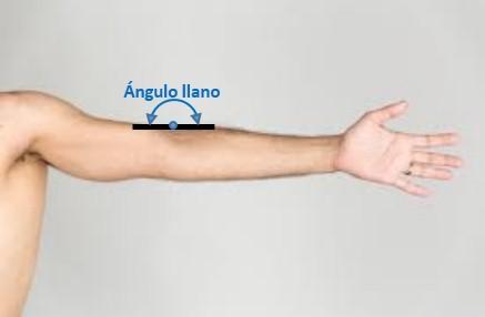 ejemplo de angulo llano imagen 2